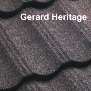 1. Gerard Heritage - Modele tigla metalica