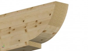 Capriori din lemn lamelat incleiat - Capriori
