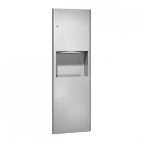 Combi Unit incastrat cu dispenser de servetele si cos de gunoi - 9462 - Accesorii din inox pentru spatii sanitare publice