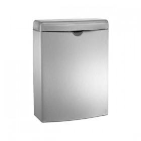 Cos de gunoi cu capac 20852 - Accesorii din inox pentru spatii sanitare publice