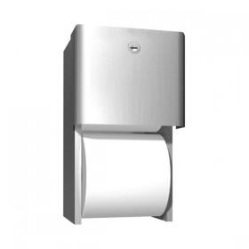 Dispenser de hartie igienica cu rola de rezerva - 9030 - Accesorii din inox pentru spatii sanitare publice