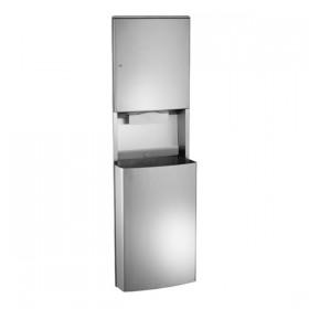 Dispenser automat de servetele tip rola - 20469 - Accesorii din inox pentru spatii sanitare publice