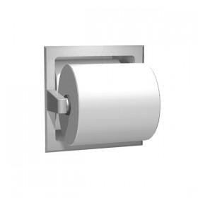 Dispenser incastrat pentru hartie igienica, cu rola de rezerva - 7403 - Accesorii din inox pentru spatii sanitare publice