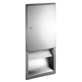 Dispenser incastrat pentru servetele - 20452 - Accesorii din inox pentru spatii sanitare publice