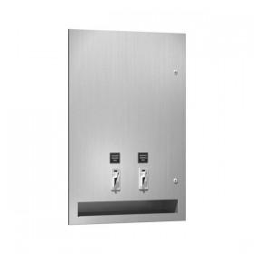 Dozator de servetele umede si tampoane - 6468 - Accesorii din inox pentru spatii sanitare publice