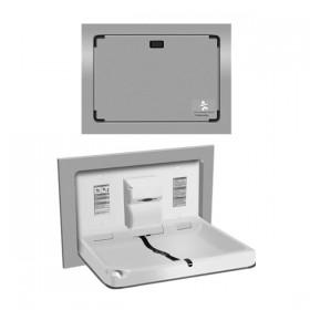 Statie de schimbat copiii - 9018 - Accesorii din inox pentru spatii sanitare publice