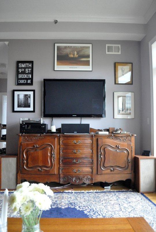 Cum sa facem ca televizorul sa nu fie piesa principala din incapere - Cum sa facem