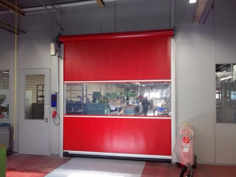 Usi rapide din PVC cu deschidere pe verticala - Usi rapide din PVC cu deschidere pe