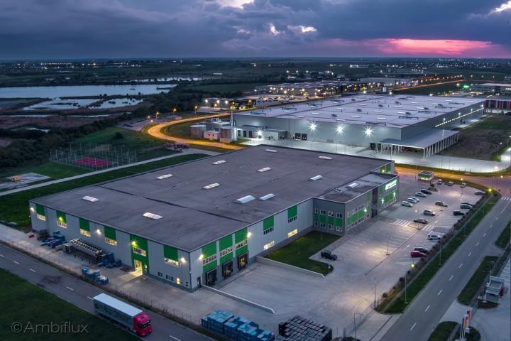 Proiect iluminat hala industriala Reinert - Proiecte ELECTRONIC INTERACTIV