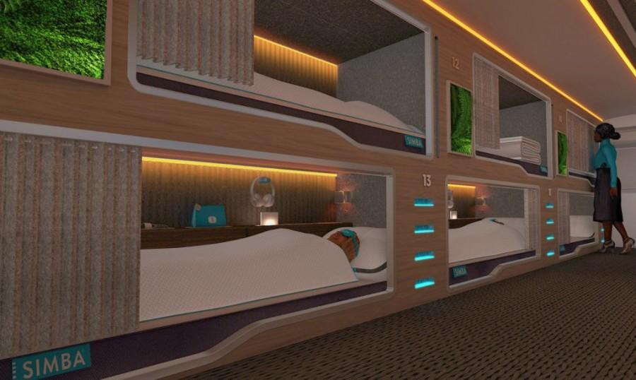 Autobuzul Simba Snoozeliner - Te-a prins noaptea în oraș? Nicio grijă, poți dormi în acest autobuz de noapte