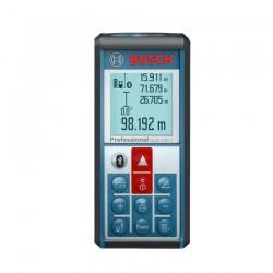 Telemetru cu laser (100 m) cu transfer de date catre telefoane, tablete, PC BOSCH Professional GLM 100 C - Telemetre cu laser