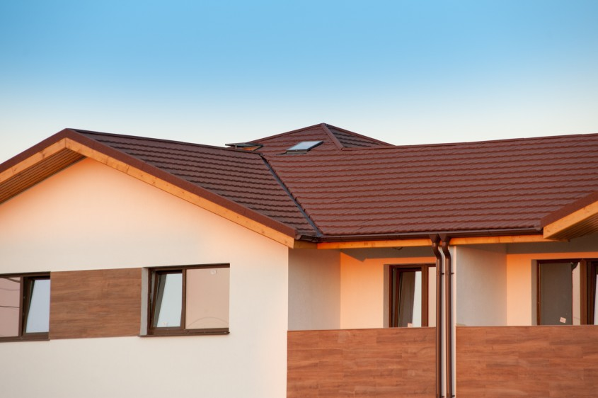 Ansamblu rezidential Andronache duplex - Decra Octav Mocha - Decra Icopal - solutia completa pentru acoperisul