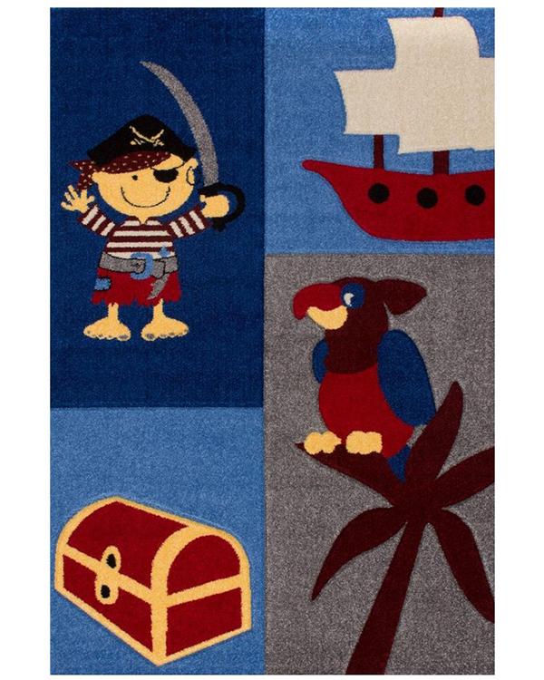 "Covor Copii Polipropilena Koty Design Colectia Grande Vita Ggr9k - 1. Maritim, nautic, ""Camera de pirati"""