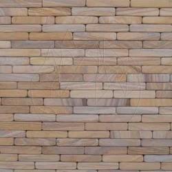 Sandstone Rainbow Fileti Antik 4 x 20cm - Lichidare Stoc - Piatra naturala decorativa rainbow sandstone
