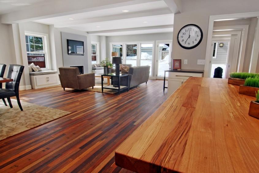 Pardoselile din lemn masiv - cum alegi culoarea potrivita pentru amenajarea ta? - Pardoselile din lemn