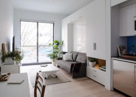 Complexul rezidential Carmel Place - Primele fotografii după terminarea unui bloc de micro-apartamente