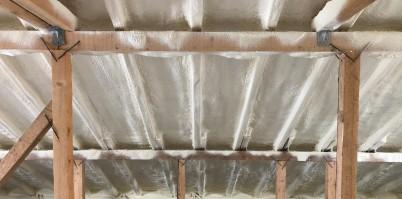 DUPA aplicarea spumei poliuretanice - Termoizolatii cu spuma poliuretanica pentru diferite suprafete