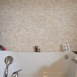 Mozaic Marmura Patara Scapitata 1.5 x 5 cm - Mozaic piatra naturala