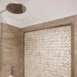 Mozaic Travertin Classic Scapitat Siding 2.3 x 4.8 cm - Mozaic piatra naturala