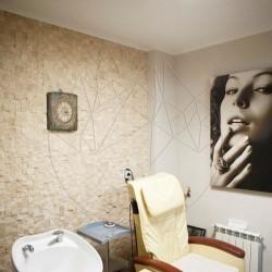 Mozaic Travertin Classic Scapitat 4.8 x 4.8 cm - Lichidare Stoc - Mozaic piatra naturala