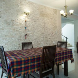 Mozaic Travertin Classic Scapitat 5 x 10 cm - Lichidare Stoc - Mozaic piatra naturala