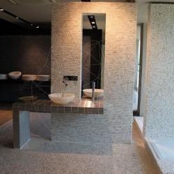 Mozaic Travertin Classic Antichizat 1.5cm x Lungime Libera RSM 11 - Mozaic piatra naturala
