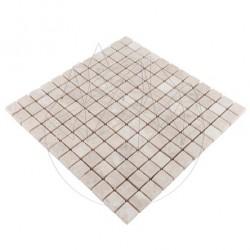 Mozaic Marmura Cappuccino Antichizata 2.3x2.3cm - Mozaic piatra naturala