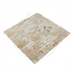 Mozaic Onix Fileti Antichizat 1.5 cm x LL - Mozaic piatra naturala
