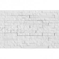 Mozaic Marmura Thassos Matrix 15 x 30 cm - Mozaic piatra naturala