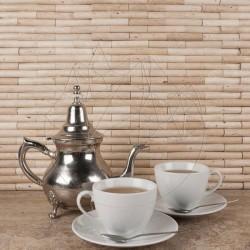 Mozaic Travertin Classic Bamboo 1.5 x 7.5 cm - Mozaic piatra naturala