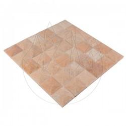 Mozaic Marmura Rodon Pyramid Polisat 5 x 5cm - Mozaic piatra naturala