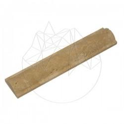 Bagheta M13 Travertin Classic 6.3 x 30.5cm - Mozaic piatra naturala