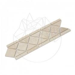Bordura B33 Travertin Classic Antichizat - Lichidare Stoc - Mozaic piatra naturala