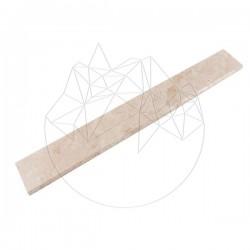 Plinta Travertin Classic, Cross Cut, Mat, 7 x 61 x 1.2 cm (Bizot 1L) - Mozaic piatra naturala