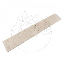 Plinta Travertin Classic Periat 8x61x1.2 cm - Mozaic piatra naturala