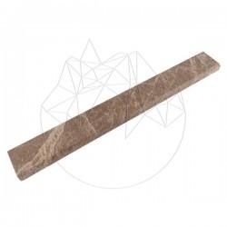 Plinta Marmura Light Emperador Polisata 7xLLx2 cm (Bizot 1L) - Mozaic piatra naturala