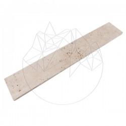 Plinta Travertin Classic Cross Cut, Periat 10 x 61 x 1.2 cm - Mozaic piatra naturala
