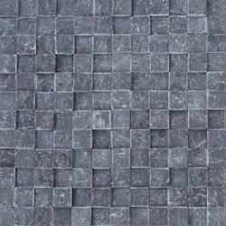 Mozaic Marmura Black Scapitata 3D 2.5 x 2.5cm - Mozaic piatra naturala