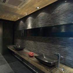 Mozaic Marmura Black Matrix 15 x 30 cm - Mozaic piatra naturala