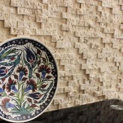 Mozaic Travertin Classic Scapitat 2.5 x 5 cm - Mozaic piatra naturala