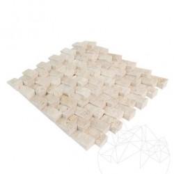 Mozaic Travertin Classic Scapitat Siding 2.5 x 5 cm - Mozaic piatra naturala