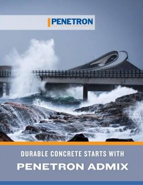 Penetron ADMIX - direct in masa betonului - Hidroizolatii si impermeabilizare pentru structuri din beton