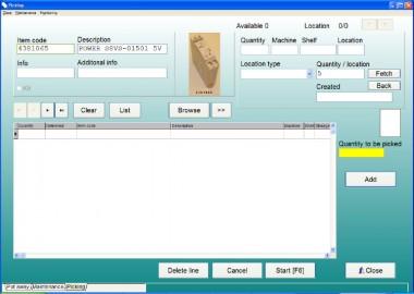 WMS si Software de control - Sisteme de depozitare