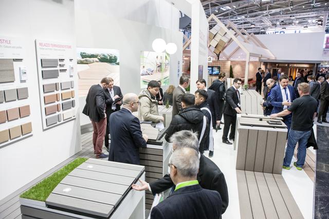 Targ BAU 2015 - Noul sistem de pavare terase Relazzo Style in centrul atentiei la Munchen