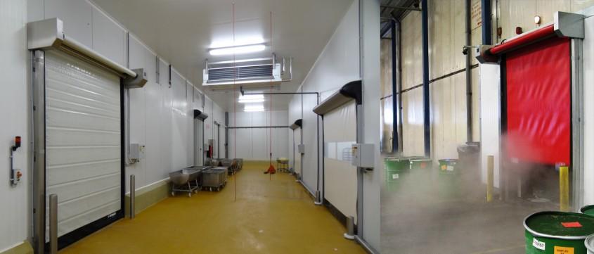 Usi rapide pentru camere frigorifice - Solutii pentru industria alimentara de la Gunther Tore