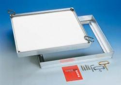 CLA capac etans la aer si apa - Capace de vizitare din aluminiu