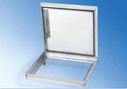 CCA capac din aluminu cu balamale - Capace de vizitare din aluminiu