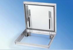 CCA-GD capac cu aluminu si balama - Capace de vizitare din aluminiu