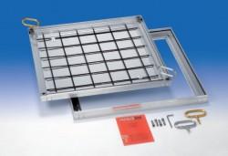 BVA-SL etans la aer si apa - Capace de vizitare din aluminiu