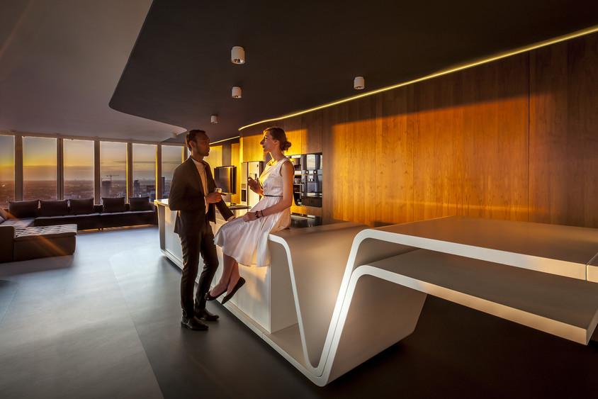 Arhitectul Liong Lie va prezenta la SHARE amenajarea unui penthouse panoramic intr-un turn proiectat de Rem